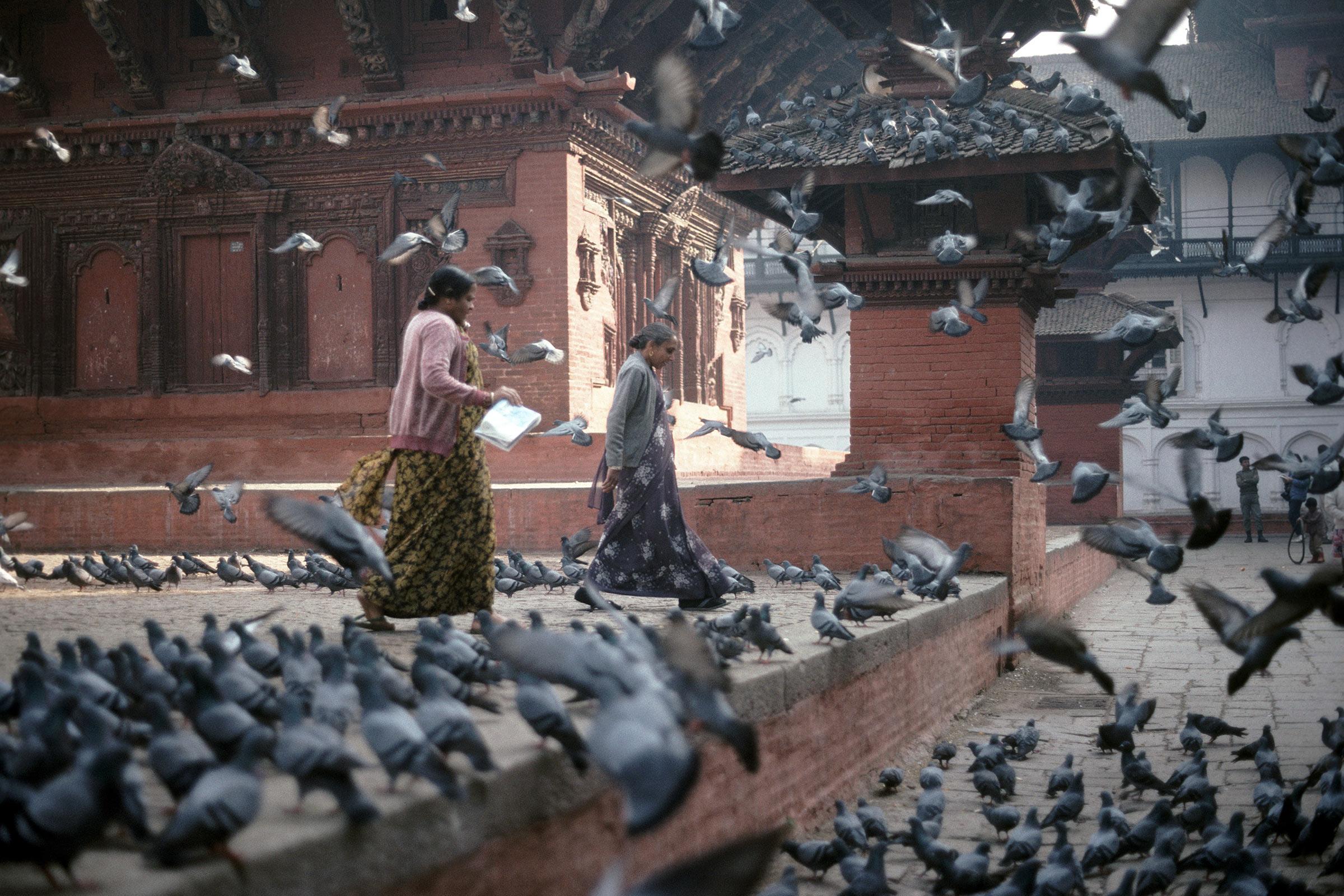Kathmandu december 1991